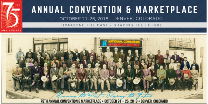 NCAI Conference 2018